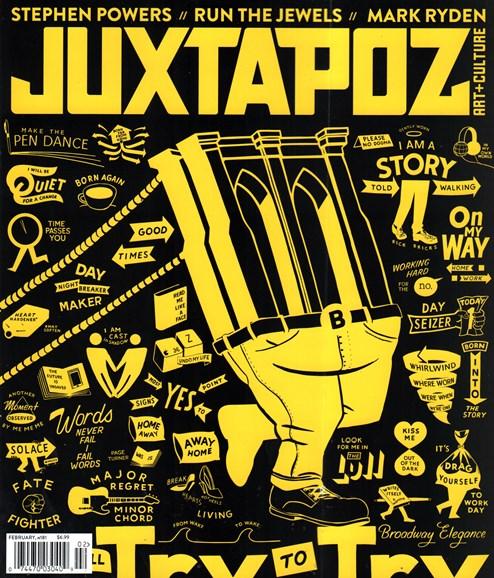 Juxtapoz Cover - 2/1/2016