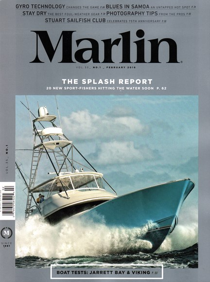 Marlin Cover - 2/1/2016