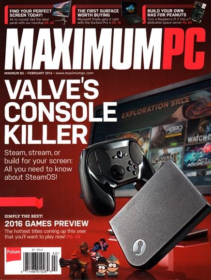Maximum PC Cover - 2/1/2016