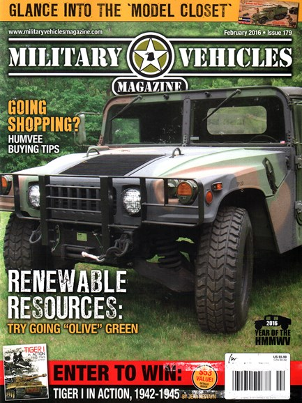 Military Vehicles Cover - 2/1/2016
