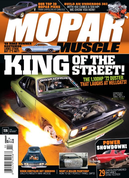 Mopar Muscle Cover - 2/1/2016