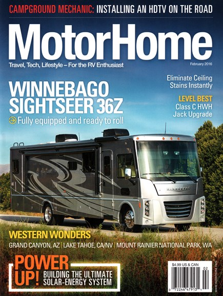 MotorHome Cover - 2/1/2016