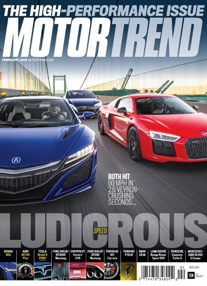 Motor Trend Cover - 2/1/2016