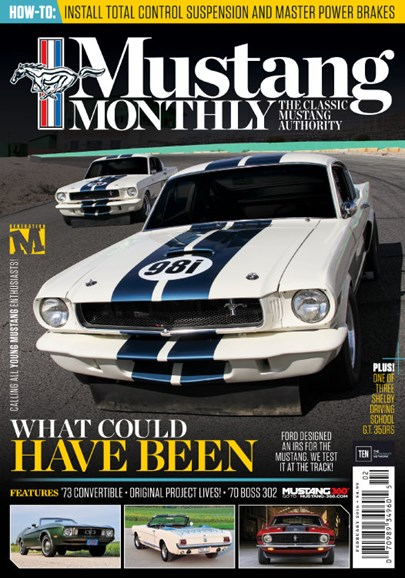 Mustang Monthly Cover - 2/1/2016