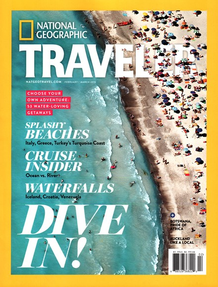 National Geographic Traveler Cover - 2/1/2016