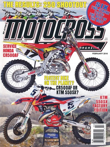 Motocross Action Cover - 2/1/2016