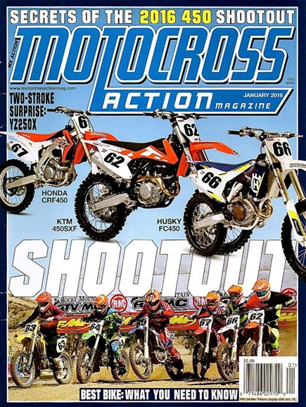 Motocross Action Cover - 1/1/2016