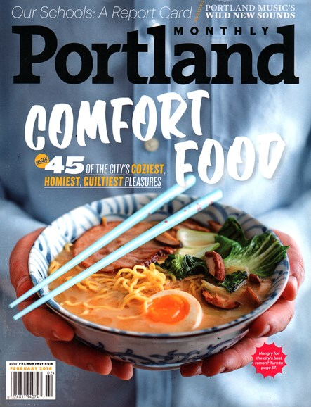 Portland Monthly Cover - 2/1/2016