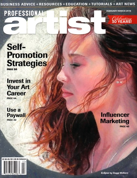 Professional Artist Cover - 2/1/2016