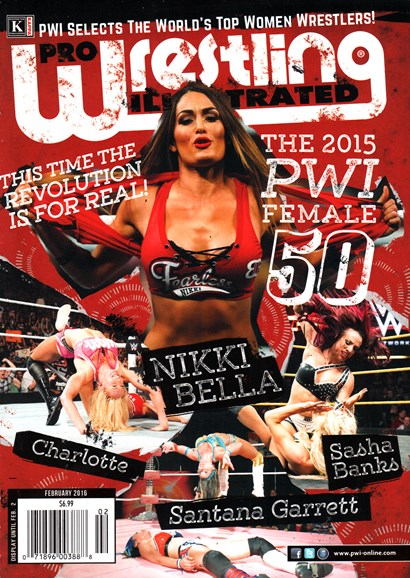 Pro Wrestling Illustrated Cover - 2/1/2016