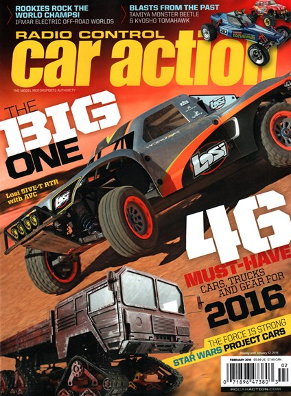 Radio Control Car Action Cover - 2/1/2016