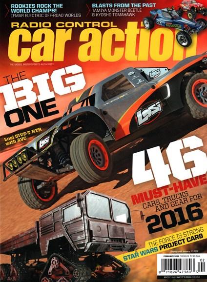 Radio Control Car Action Cover - 2/1/2016