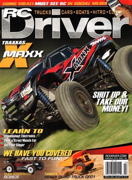 RC Driver Cover - 2/1/2016