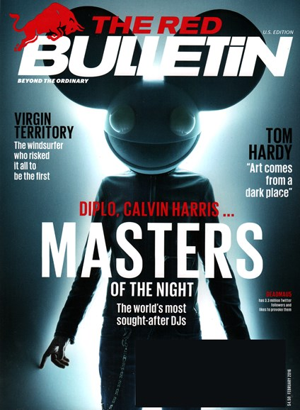 The Red Bulletin Cover - 2/1/2016