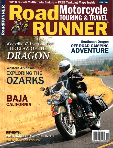 Road RUNNER Motorcycle & Touring Cover - 2/1/2016