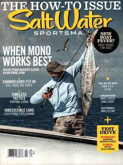 Salt Water Sportsman Cover - 2/1/2016