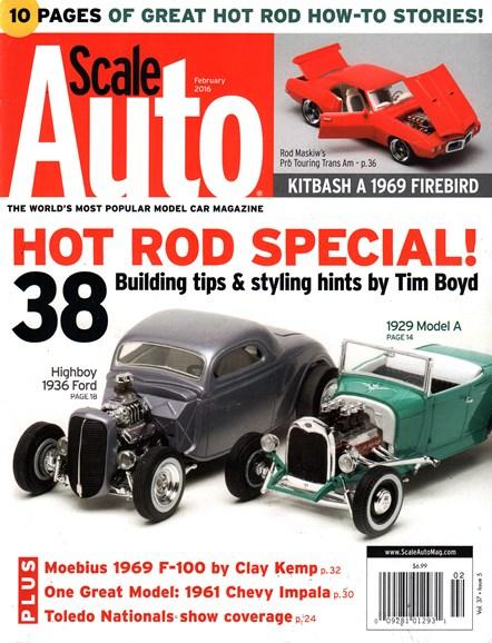Scale Auto Magazine Cover - 2/1/2016