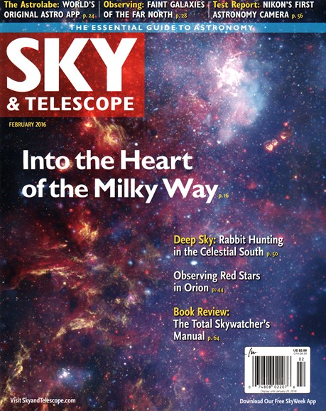 Sky & Telescope Cover - 2/1/2016