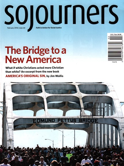 Sojourners Cover - 2/1/2016