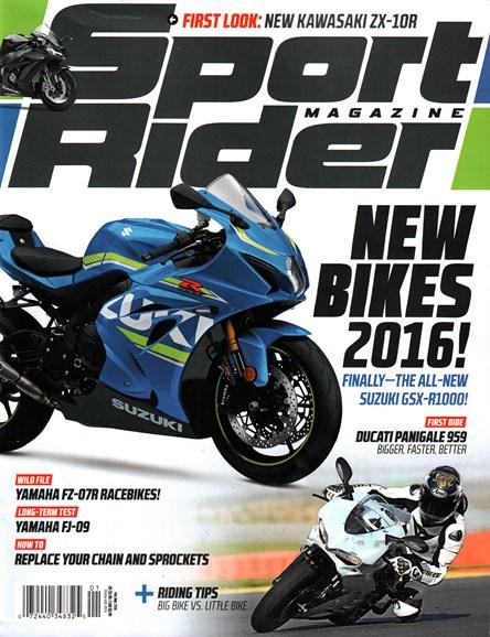 Sport Rider Cover - 2/1/2016