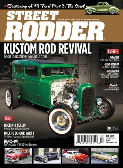 Street Rodder Cover - 2/1/2016