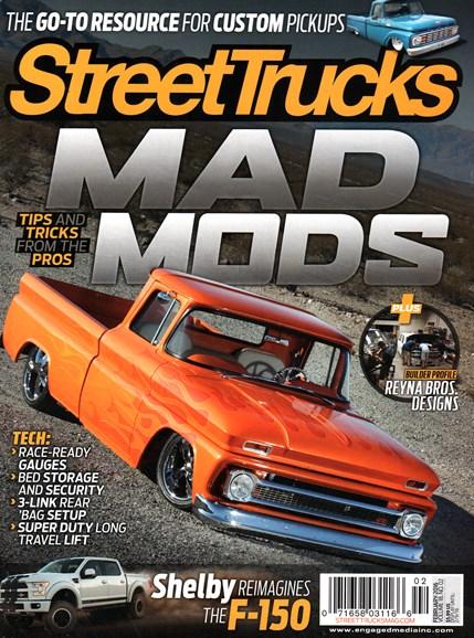 Street Trucks Cover - 2/1/2016