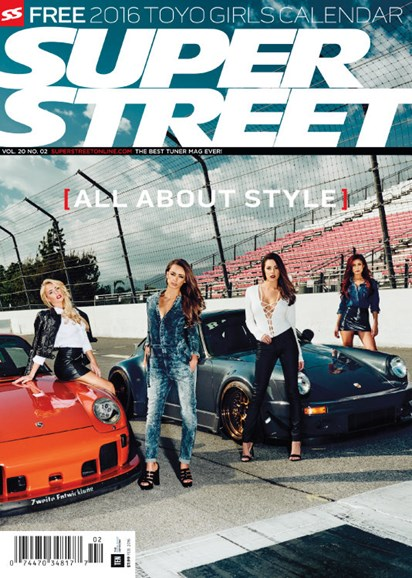 Super Street Cover - 2/1/2016