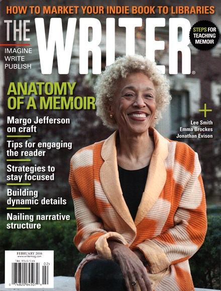 The Writer Cover - 2/1/2016