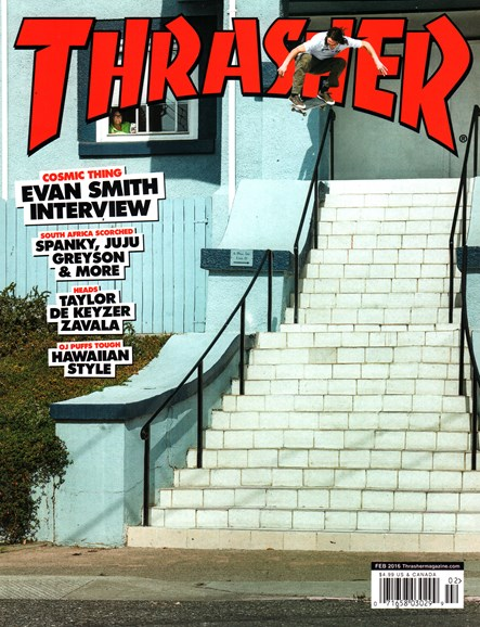 Thrasher Cover - 2/1/2016