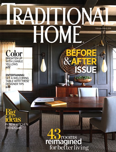 Traditional Home Cover - 2/1/2016