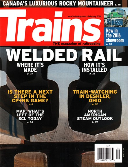 Trains Cover - 2/1/2016
