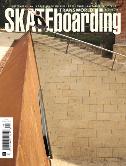 Transworld SKATEboarding Cover - 2/1/2016