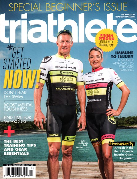 Triathlete Cover - 2/1/2016
