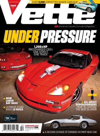 Vette Cover - 2/1/2016