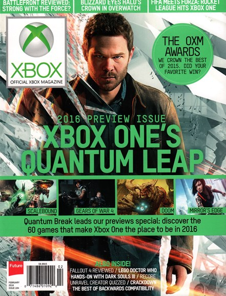 Official Xbox Magazine Cover - 2/1/2016
