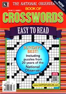 The National Observer Book of Crosswords Magazine 1/1/2016