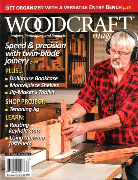 Woodcraft Cover - 2/1/2016