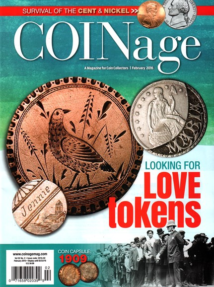 Coinage Cover - 2/1/2016