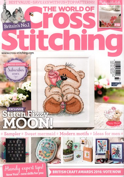 The World of Cross Stitching Cover - 1/1/2016