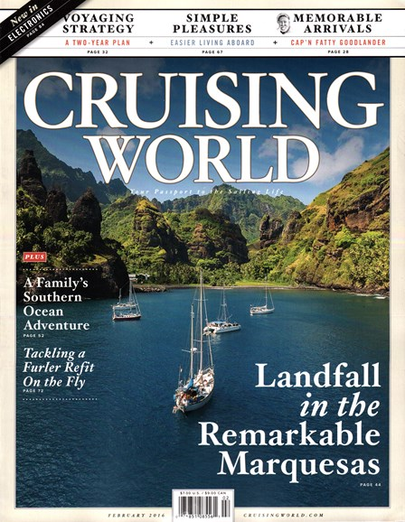 Cruising World Cover - 2/1/2016
