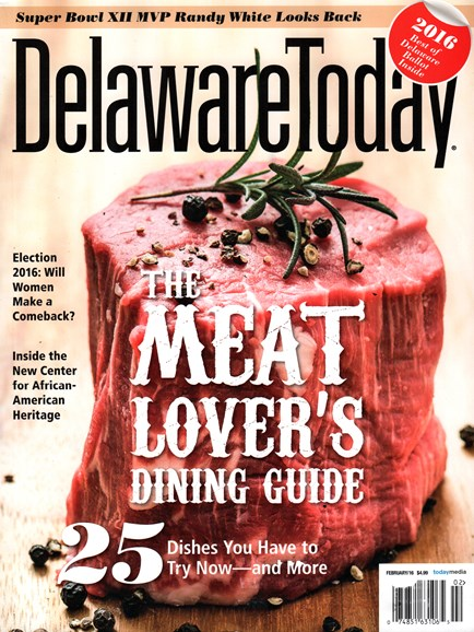 Delaware Today Cover - 2/1/2016