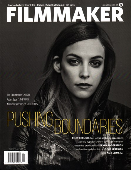 Filmmaker: The Magazine Of Independent Film Cover - 1/1/2016
