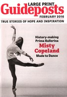 Guideposts Large Print Magazine 2/1/2016
