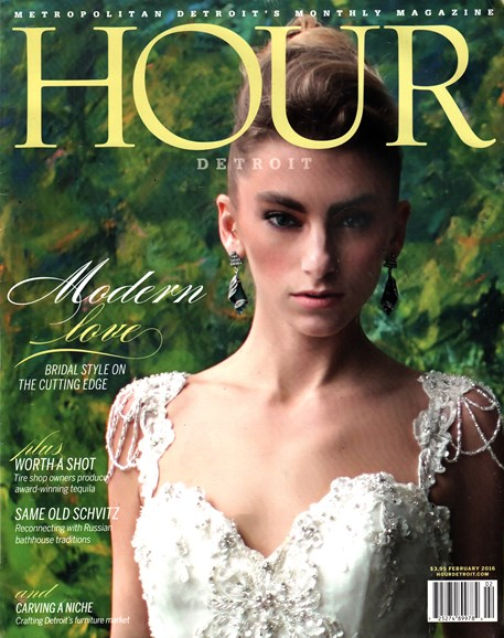 Hour Detroit Cover - 2/1/2016