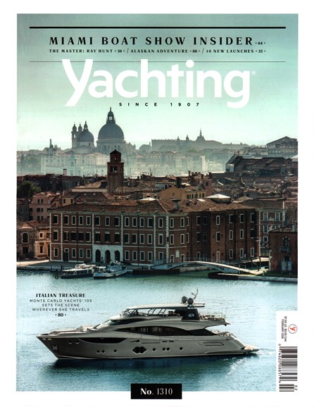 Yachting Cover - 2/1/2016