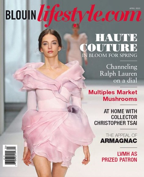 Blouin Lifestyle Cover - 4/1/2015