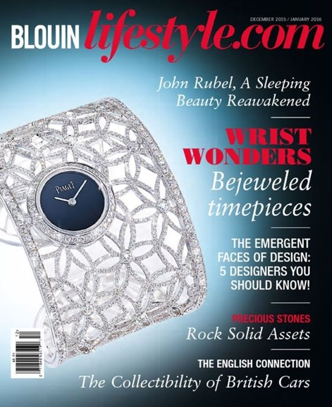 Blouin Lifestyle Cover - 12/1/2015