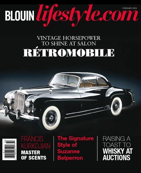 Blouin Lifestyle Cover - 2/1/2015