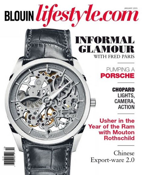 Blouin Lifestyle Cover - 1/1/2015