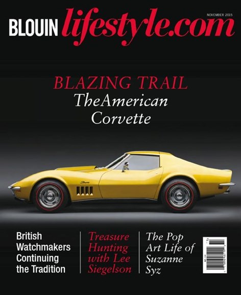 Blouin Lifestyle Cover - 11/1/2015